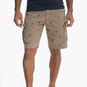 Wrangler Beer Can Printed Cargo Shorts